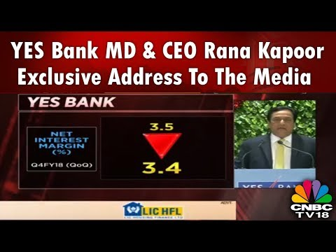 YES Bank MD & CEO Rana Kapoor Exclusive Address to the Media | CNBC TV18