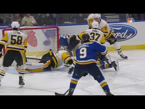 Pittsburgh Penguins vs St. Louis Blues - February 11, 2018 | Game Highlights | NHL 2017/18