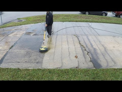 Sleep aid - Pressure washing a whole driveway in real time