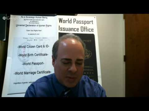 World Citizen Garry Davis: Celebrating His Life and His Legacy Part 2