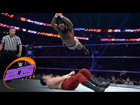 Rich Swann vs. Johnny Ocean: WWE 205 Live, April 11, 2017