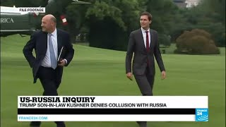 """US - Trump's Son-in-Law Jared Kushner faces grilling, says """"he did not collude"""" with Russia"""
