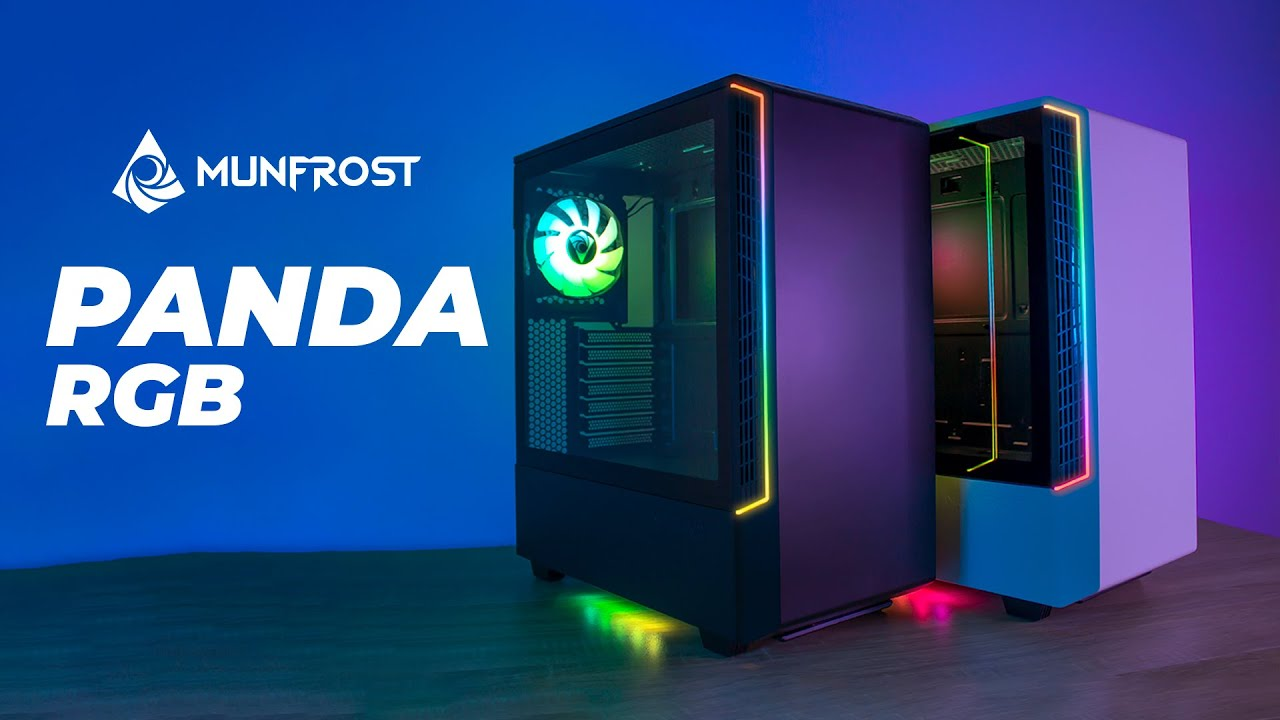 Por fin! un gabinete minimalista de calidad y a un buen precio!  Review Munfrost PANDA RGB