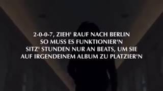 RAF CAMORA ft  BONEZ MC   Alles probiert Official HQ Lyrics