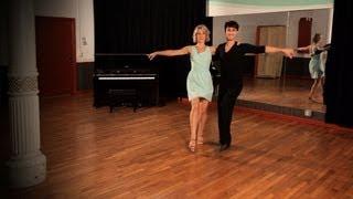 How to Do a Jive Mooch Step   Ballroom Dance