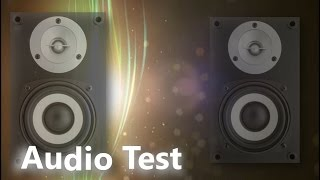 Left and Right Audio Test for Speakers and Headphones