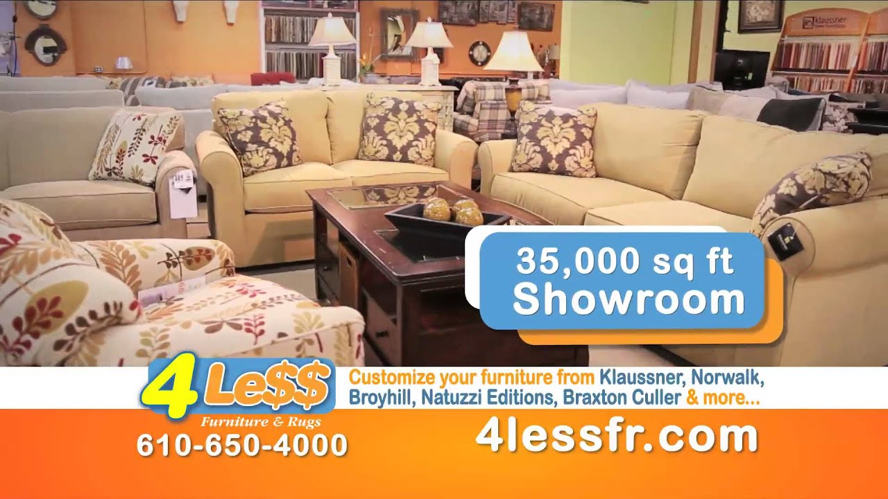 Oaks Pa New Television Commercial For 4 Less Furniture You