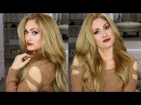 DIY At Home HIGHLIGHT & COLOR | Light Golden Honey Blonde Hair