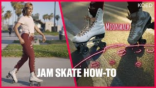 Learn 4 Roller Skating Dance Moves at Venice Beach | KQED Arts