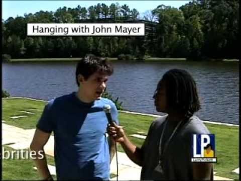 John Mayer tells Larry Pickett how he got started in the music business