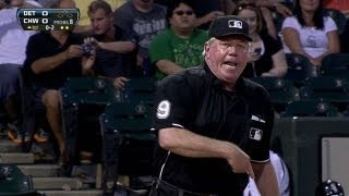 Miggy, Leyland ejected in the first inning
