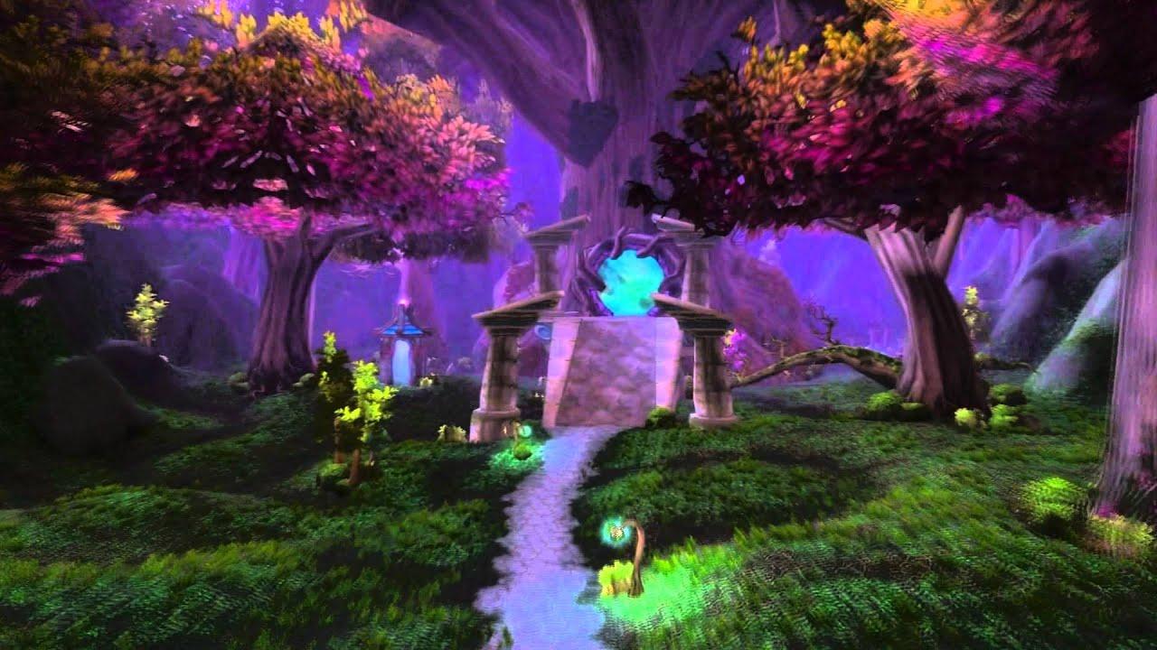 World Of Warcraft Landscape Hd Youtube