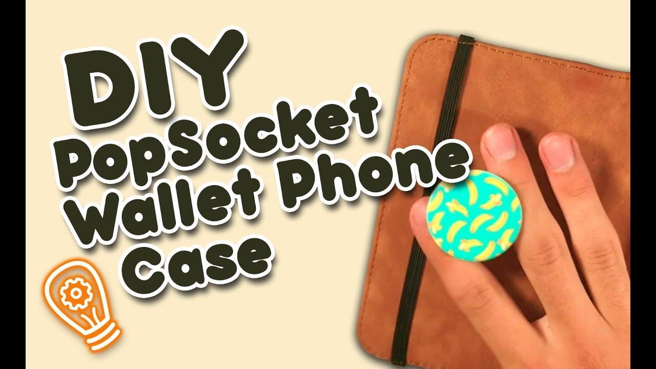super popular a5215 d4e44 DIY Inno: PopSocket Wallet Phone Case
