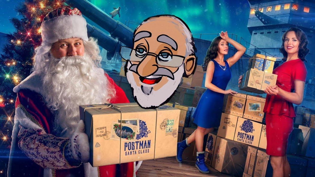 Christmas Crates 2020 World Of Warships World of Warships Santa Crate Unboxing   YouTube