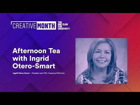 Afternoon Tea with Ingrid Otero-Smart