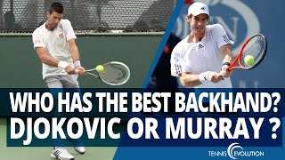 TENNIS TIP | The Murray And Djokovic Two Handed Backhand Tennis Tip
