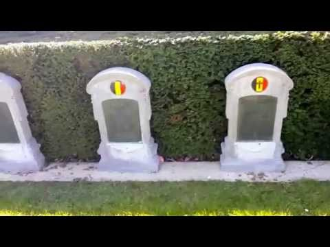The Graves. Belgian, Polish And Russian Soldiers, 1 St And 2 World War Soldiers Who Died For France.
