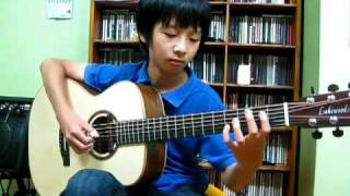 (The Beatles) While My Guitar Gently Weeps - Sungha Jung