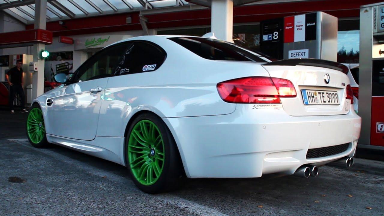 LOUD BMW M3 E92 w Custom Exhaust  YouTube