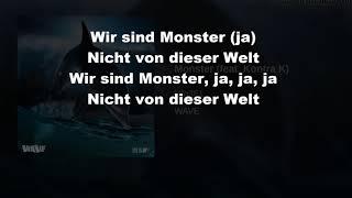 Ufo361 feat. Kontra K - Monster(lyrics)/Lyrics Meister