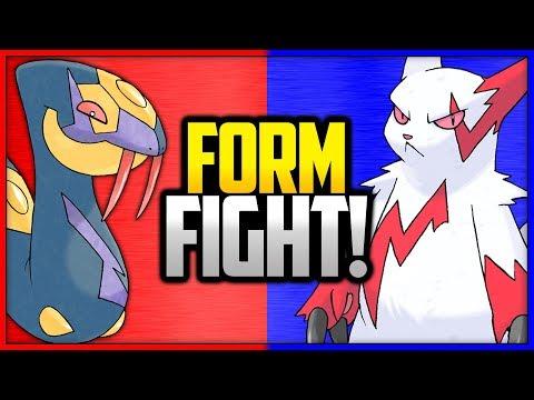 Seviper vs Zangoose   Pokémon Form Fight