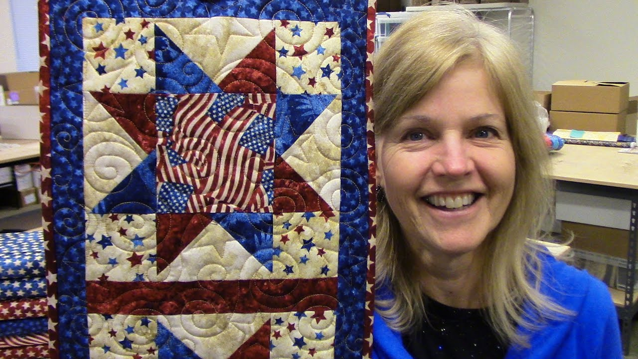 Floating Point North Star New Pattern Designed By Donna