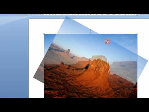 Вопрос: Как поворачивать изображения в Microsoft Word?