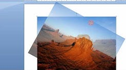 Easily Rotate Pictures In Word 2007 &2010 Step By Step Tutorial