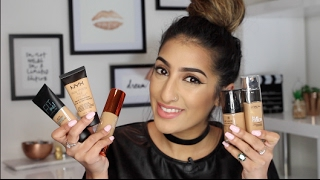 One of AnchalMUA's most viewed videos: Best Drugstore/Affordable Foundations - Indian/Olive/Warm Skin