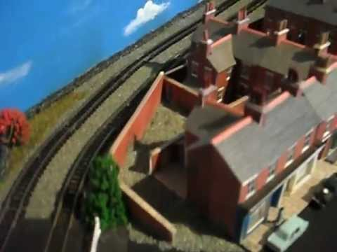 N Gauge Steam Era Layout for Sale from KJB Models Video 2