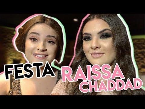 VLOG: FESTA DE 15 ANOS DA RAISSA CHADDAD | LIVIA INHUDES