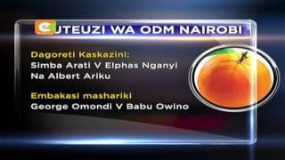 Kivumbi kinatazamiwa kwenye mchujo wa ODM jijini Nairobi