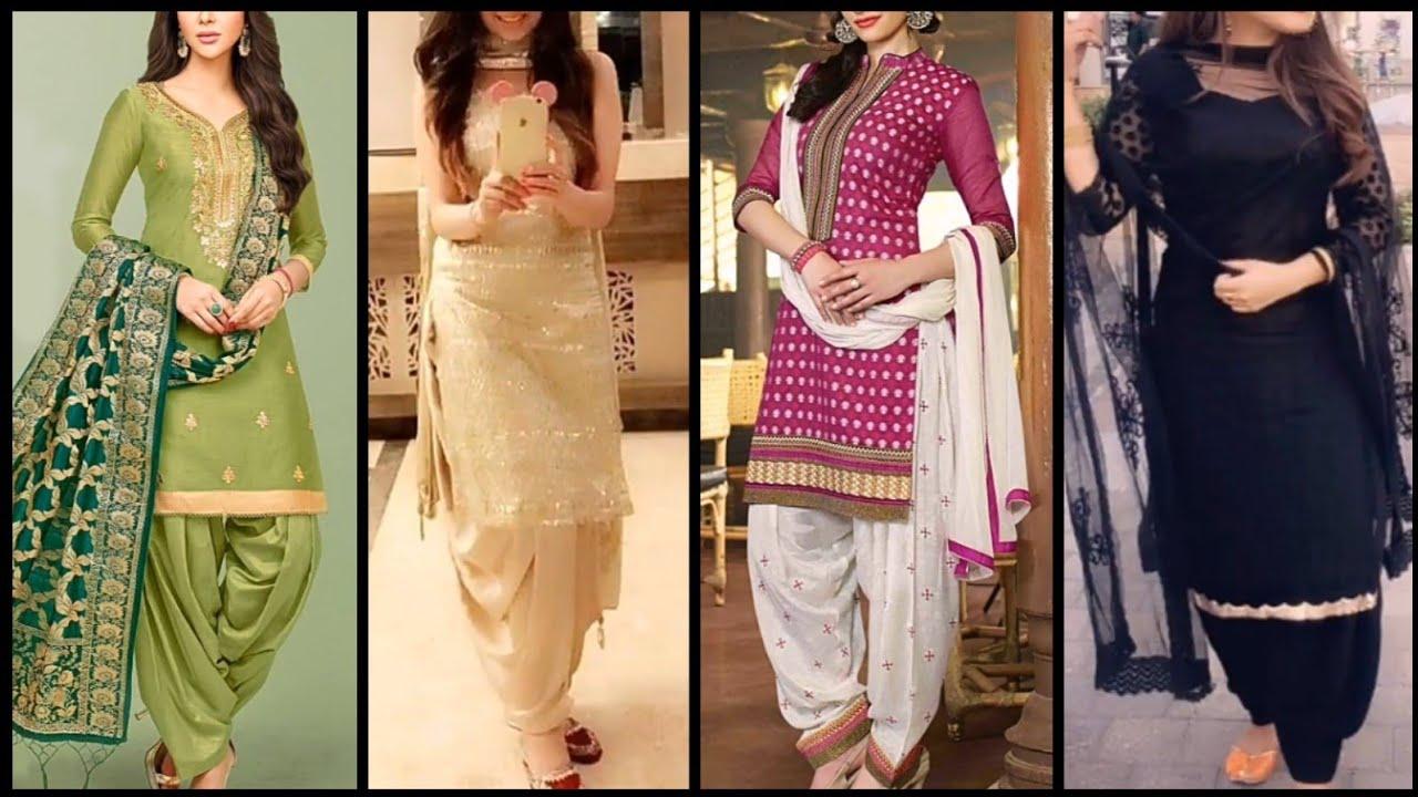 New casual salwar suit design//Salwar kameez//Punjabi suits ...