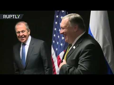 Lavrov and Pompeo meet on sidelines of Arctic Council session
