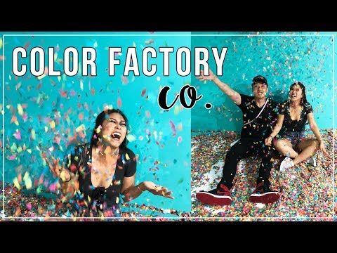 Color Factory Co. in SF! Better than Museum of Ice Cream? | xomelrous