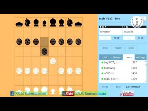 Cambodian Thai Chess - CS 003 Chess strategy for playing | Khmer OUk Makruk