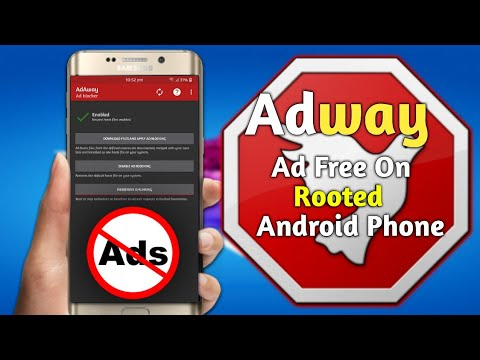 How to block ads on android phone   how to install adaway on eny android  rooted phone  shamusiq