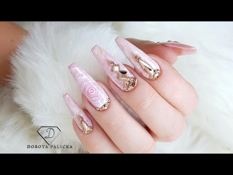 blush-pink-and-rose-gold-marble-nails.-nail-art-trends-2020,-nails-2020,-gel-marble,-gel-rose-nails