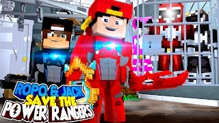 Minecraft Adventure - SAVING THE PINK POWER RANGER!!