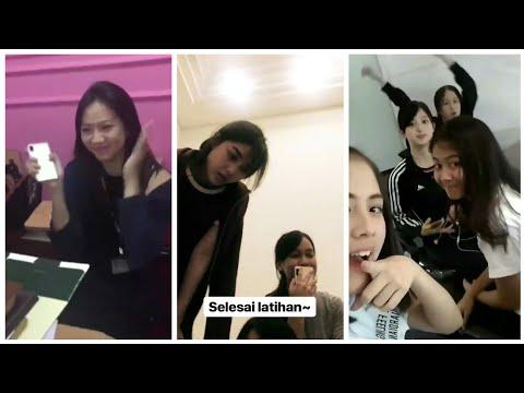 Snapgram Member JKT48 ( Beby, Anin, Shanju, Shani & Zara ) 2018-06-28