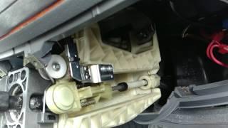 Регулировка тросов КПП на Мерседес Вито Виано W639