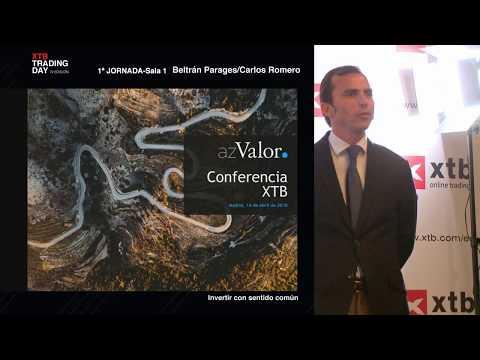 Invertir con sentido común, Carlos Romero - XTB Trading Day 2018