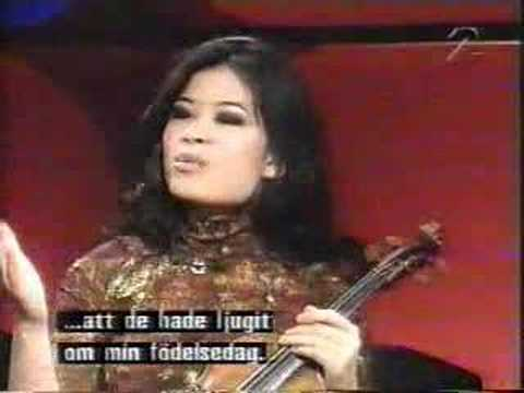 Vanessa-Mae Interview Swedish Tv