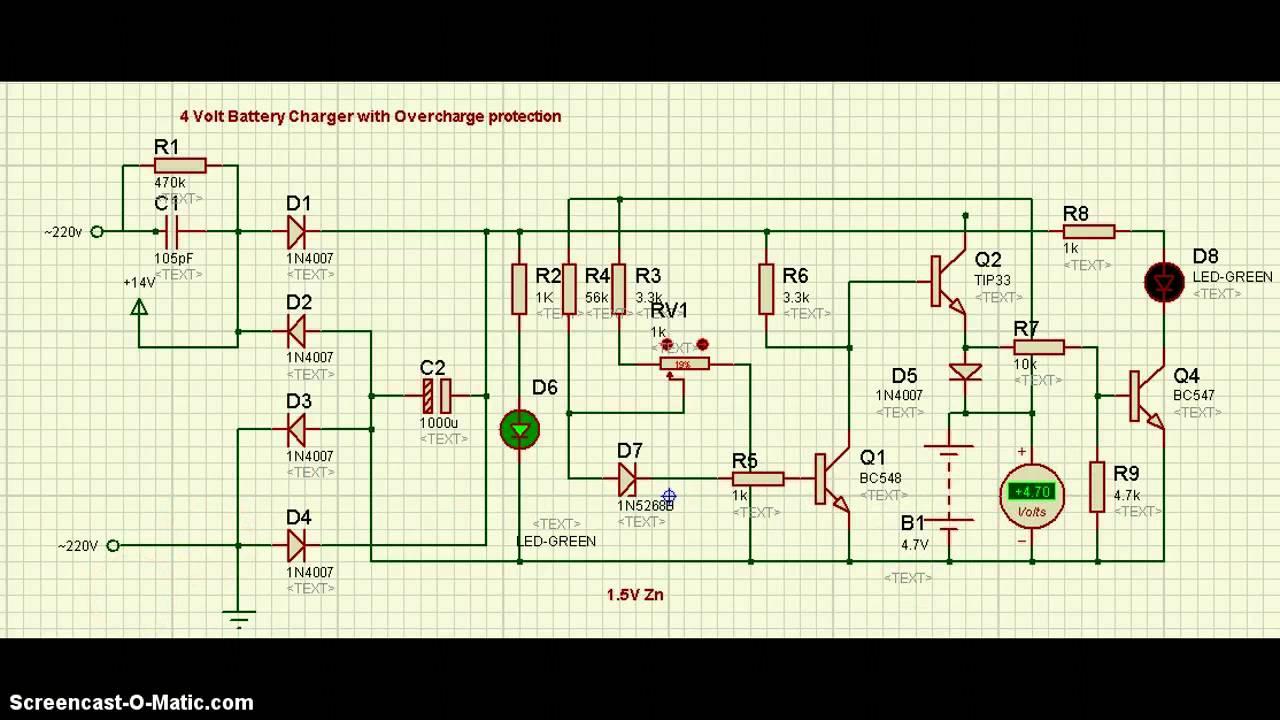 Circuit Simple Radio Circuit Diagram Simple Battery Charger Circuit