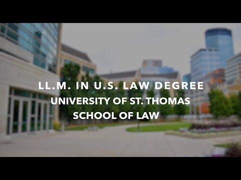 LL.M. in U.S. Law degree | University of St. Thomas School of Law