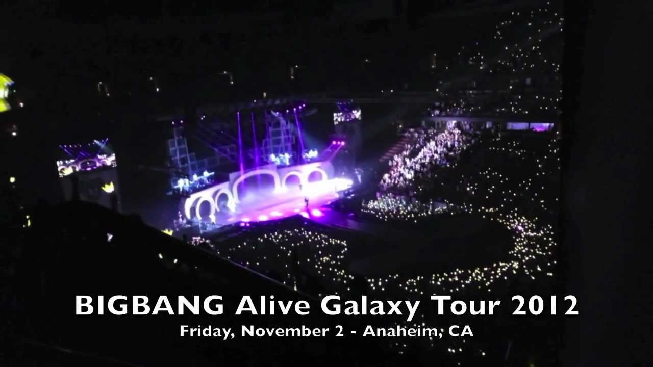 BIGBANG Alive Galaxy Tour 2012   LIES + LAST FAREWELL @ Honda Center ( Anaheim, CA)