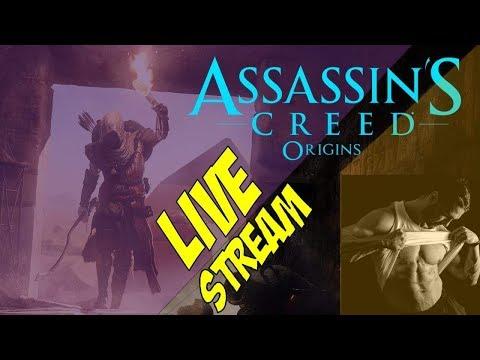 Assassin's Creed: Origins (#19) : Nemocný krokodajl // Epická námořní bitva 02 // a 35 lvl. postavy