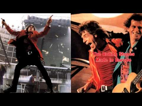 The Rolling Stones Voodoo Lounge Tour 1995 Luxembourg - Band introduction