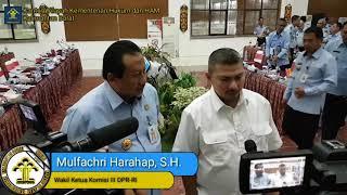 Wakil Ketua Komisi III DPR-RI Mengharapkan Peningkatan Kerja Keimigrasian Kanwil Kemenkumham Kalbar