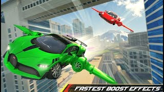 Flying Car Driving 2020 Ultimate Cars - Android Gameplay FHD screenshot 5